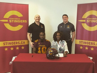 """Concordia """"building something real special"""" says CEGEP recruit (VIDEO)"""