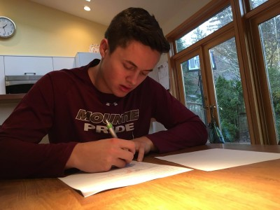 """British Columbia recruit """"beyond excited"""" to be part of Mounties competitive tradition (VIDEO)"""