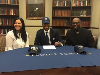 #CFC100 DB Addae signs with NCAA's University of New Hampshire Wildcats (VIDEO)
