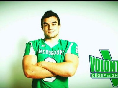CEGEP recruit hopes to represent hometown with Vert et Or (VIDEO)