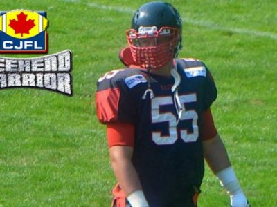 CJFL WEEKEND WARRIORS: Terrek Bryant
