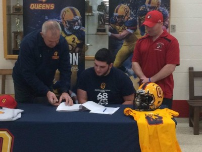 "Queen's ""excellent team heading in the right direction"" says Mississauga recruit"