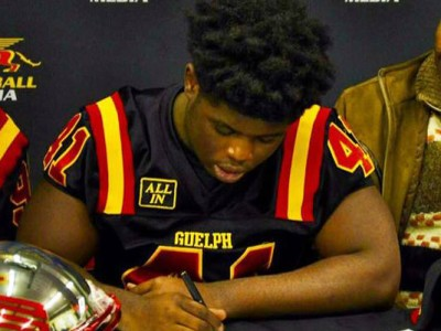 "Guelph ""a place to come in and compete"" says Brampton recruit"