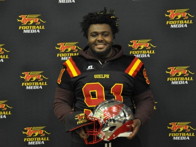 Guelph was always the destination for Brampton recruit