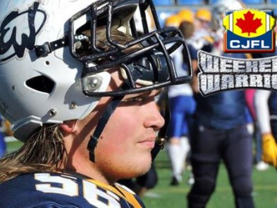 CJFL WEEKEND WARRIORS: John Harke