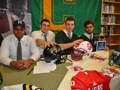 4 recruits sign LOI's with CIS schools during Chaminade's Signing Day