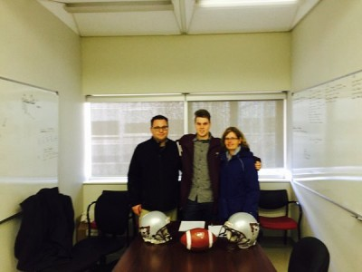 """Gee-Gees """"kept coming out on top"""" for CEGEP recruit (VIDEO)"""