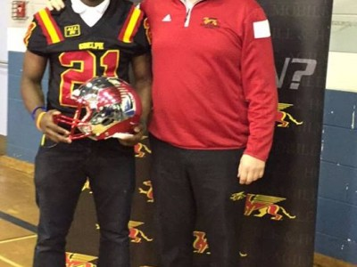 Scarborough recruit opts for Guelph (VIDEO)