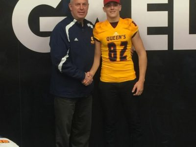 "Queen's ""made investment"" in Nova Scotia recruit's career (VIDEO)"