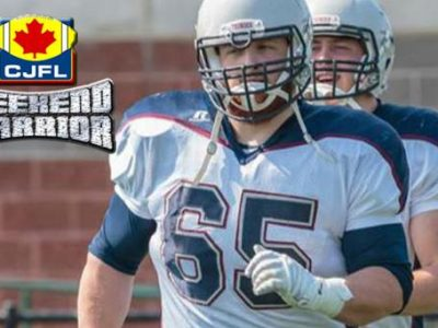 CJFL Weekend Warrior: Matt Knight