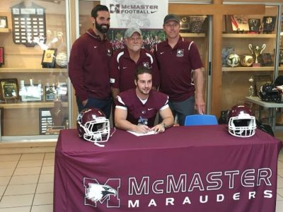 #CFC100 recruit found fit with McMaster's offence system