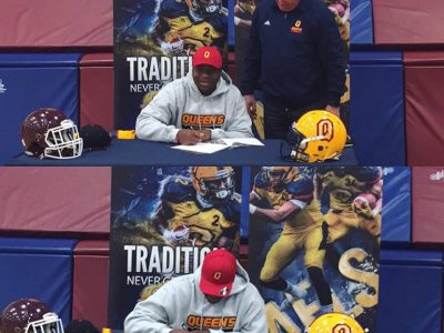 #CFCOPC recruit signs with Queen's