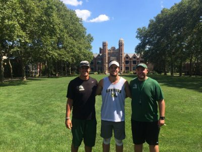 Wagner gives #CFC100 ATH Burniston first NCAA Division 1 offer (VIDEO)