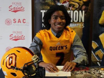 "Queen's has ""great reputation"" says Toronto recruit (VIDEO)"