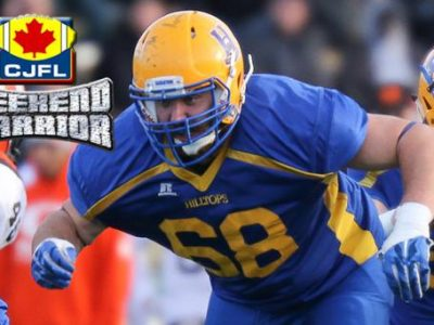 CJFL WEEKEND WARRIOR: Tyler Hoath