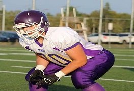 OL/DL Ordinelli owes a lot to the game of football