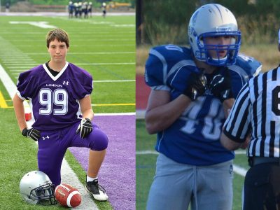 Brandon Vanneste (left, courtesy of the OVFL) and Brandon Maki (right, courtesy of Brandon Maki)