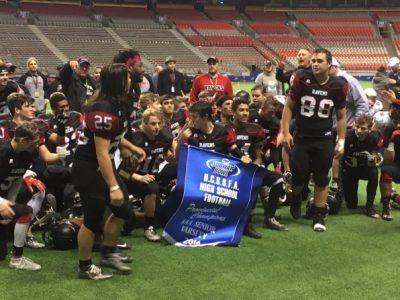 2017 High School Team Previews (BC): CFC50 Terry Fox Ravens start 2017 with a bullseye on their back