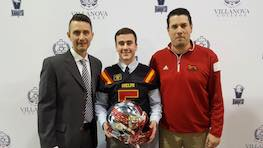 """'Family-like' atmosphere"" draws WR Hill to the Guelph Gryphons"