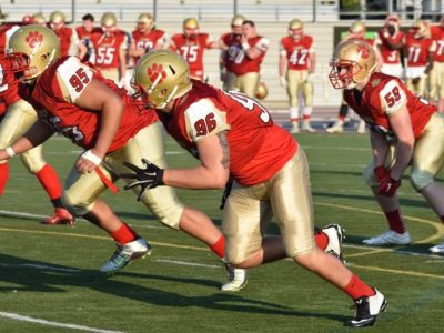 Defensive Lineman Allain is on path for big things