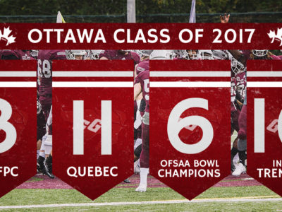 U Sports 2017 Recruiting Analysis (OUA): Ottawa Gee-Gees ready to begin a new chapter with heavy influence from QC