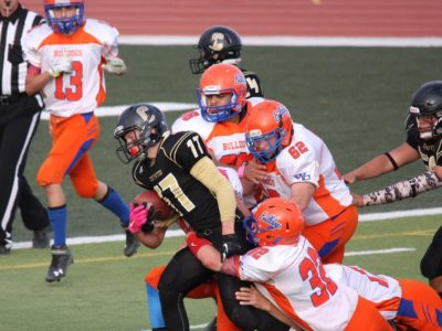 RB Prankard's passion for football