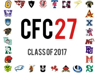 CFC27 update (10): 2017 recruiting season wrapping up