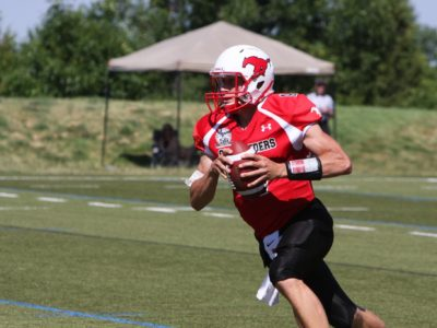 "CFC100 QB Irwin-Lewis, ""Football is a special game which I cherish the opportunity to play."""