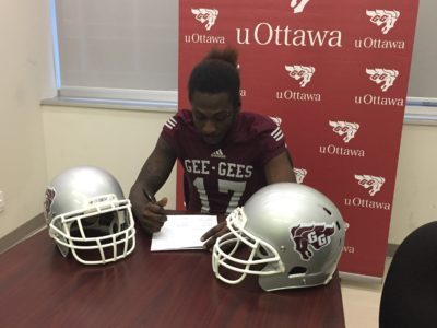 John Abbott Islander DB ready to shine with uOttawa