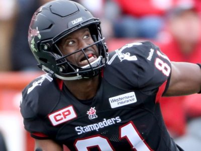 Jabari Arthur joins Dinos as receiver coach