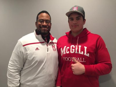 McGill Redmen lock down CFC100 commit