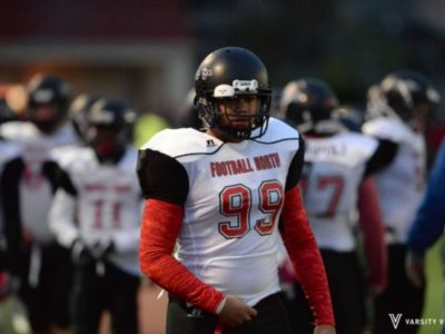 #99 Kail Dava - Football North (Photo courtesy of Kail Dava)