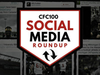 CFC100 Social Media Update: Slater announces commitment; OUA programs throw their weight around