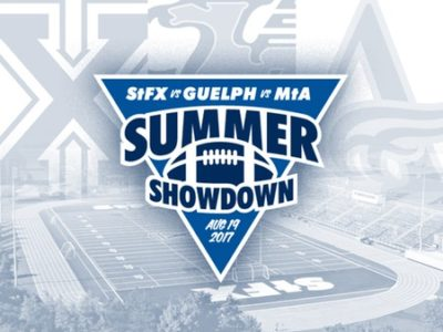 StFX, Mount Allison and Guelph to compete in football exhibition Summer Showdown