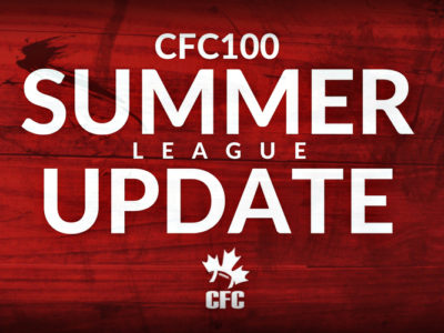 CFC100 Summer League Update: Patten leads the way in a thrilling playoff victory for the Tiger-Cats; Wilson and the Jr. Argos secure another shutout