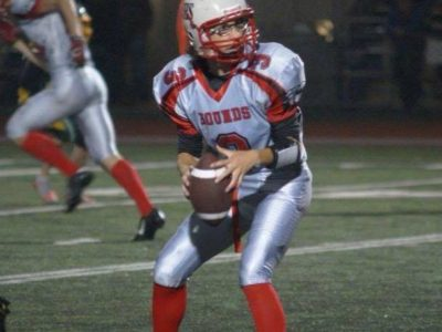 Riley Ring-Dineen still following his brothers gridiron footsteps