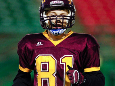 WR Camplin chose to play football because of Roughriders