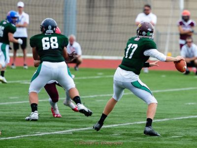 QB Josh Donnelly, U18 Team Saskatchewan (17) (credit: DheillyFire Photography)