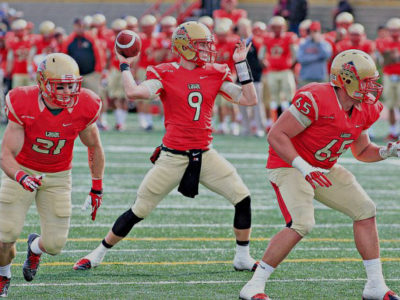 Alex Skinner (9), Laval Rouge et Or