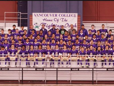 2017 High School Team Previews (BC): CFC50 Vancouver College Fighting Irish look to re-establish themselves in the AAA Western conference