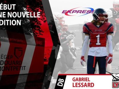 DB Lessard plans on being difference maker with Les Lynx du Cégep Édouard Montpetit