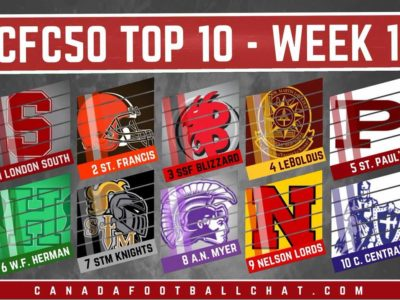 #CFC50 2017 high school RANKINGS (1): We've got a new No. 1, and other major shakeups