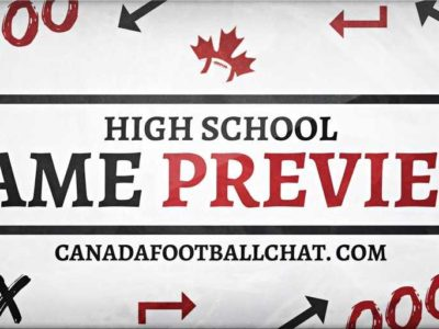 #CFC50 game preview [exhib]: Vincent Massey Trojans clash with the Aden Bowman Bears
