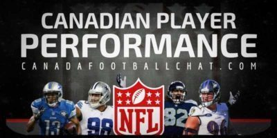 NFL Canadian Performances (10): Injuries starting to rack up