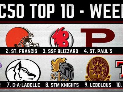 #CFC50 2017 high school RANKINGS (3): Ravens crack top 10, Newman plummets