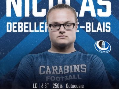 'I love the city of Montréal,' says Carabins new recruit