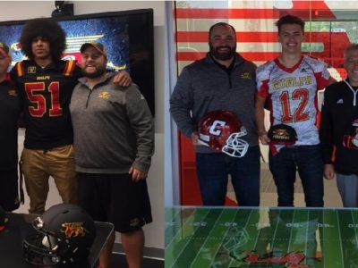 Guelph Gryphons coaching staff, family feel draws in two