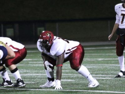 Rodeem Brown lining up in 2017.
