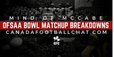 Mind of McCabe: 2017 OFSAA Bowl Festival Regional Matchups and Breakdown