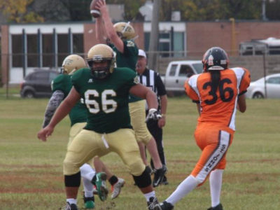 OL Leano a key to Tec Voc's offense